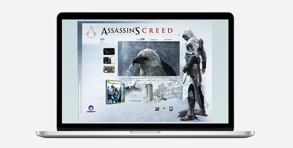 Assassin's Creed event website