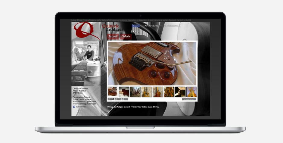 Quintric Guitares Luthier