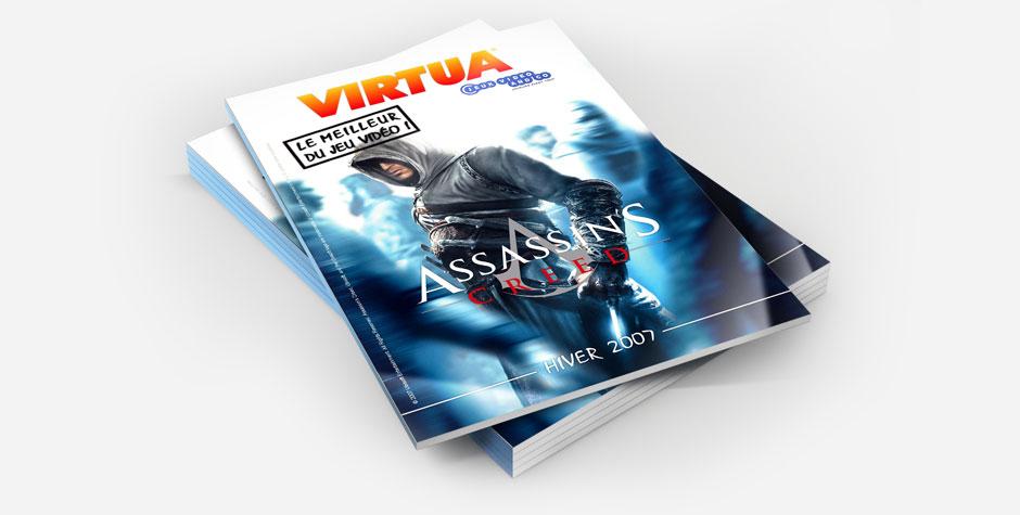 Couverture publicitaire catalogue