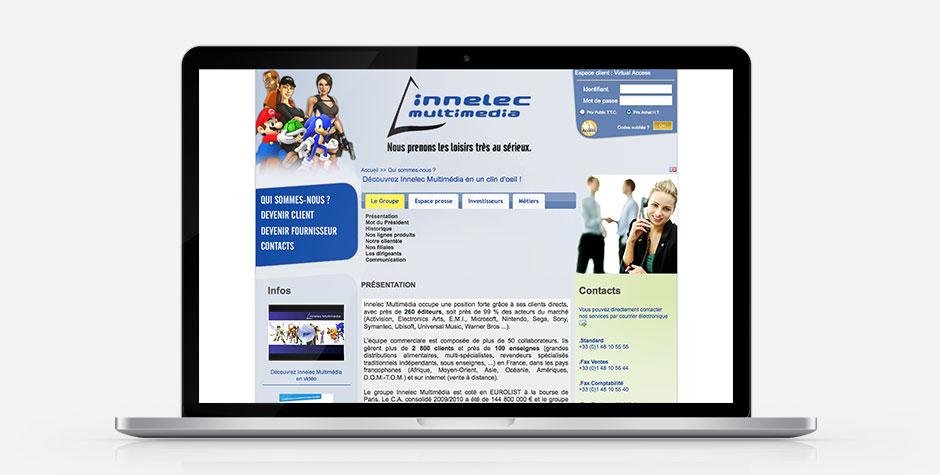 Innelec Multimedia website