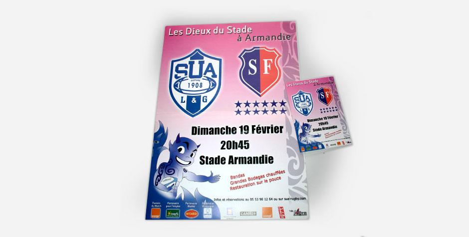 Agen SUA – Stade Français